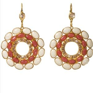SORRELLI Andalusia retro disk circle earring gold